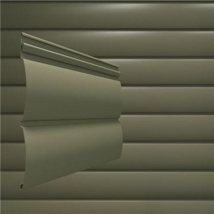 Сайдинг ПВХ блок-хаус 2700х230 мм темно-коричневый 0.62 м2