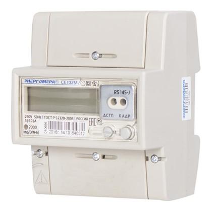 Электросчетчик СЕ 102 R5 145 OK однофазный