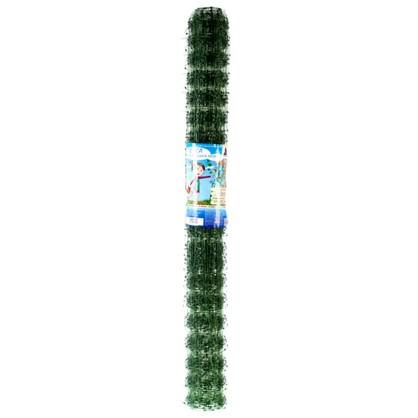 Сетка для вьющихся растений размер ячейки 45х45 мм высота 100 см цвет хаки цена