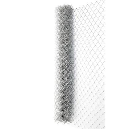 Сетка оцинкованная Рабица размер ячейки 50х50 мм 1.5х10 м