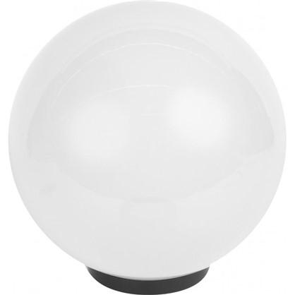 Шар уличный Palla 1xE27x60 Вт 300 мм пластик цвет белый