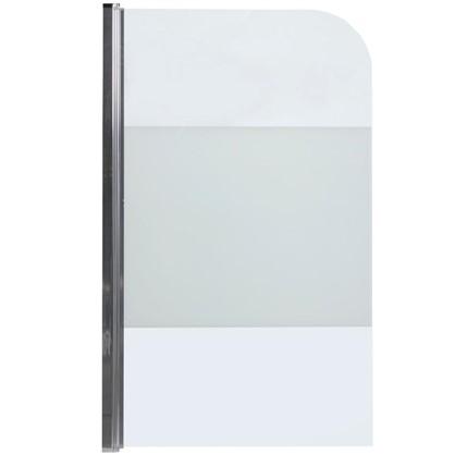 Ширма на ванну Quad 140x85 см цвет серебристый цена