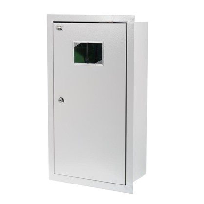 Щит металлический IEK ЩУРв-3/9зо-1 36 на 9 модулей IP31 цена