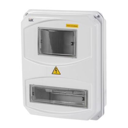 Щит пластиковый IEK ЩУРн-П 3/10 на 10 модулей IP55 цена