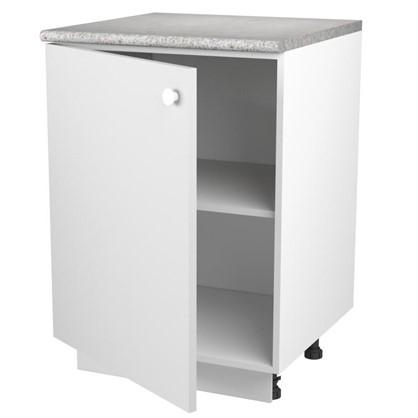 Шкаф напольный Бьянка Д с фасадом 86х60 см цвет белый цена