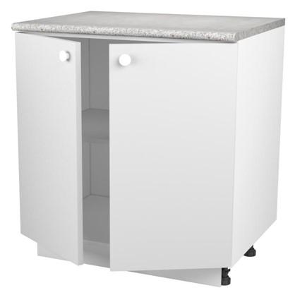 Шкаф напольный Бьянка Сп с фасадом 85х80 см ЛДСП цвет белый цена