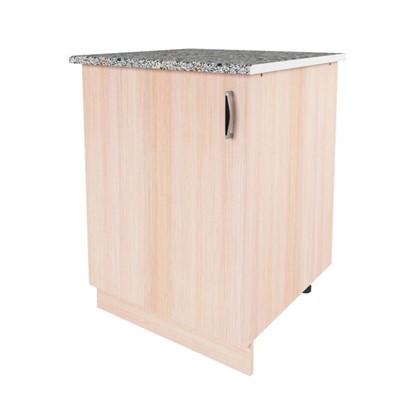 Шкаф напольный Дуб Молочный Д 86х60 см цвет дуб цена