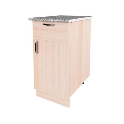 Шкаф напольный Дуб молочный Е 40 см цена