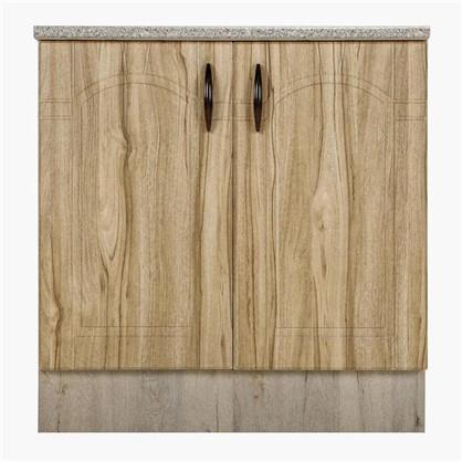 Шкаф напольный Камила 80-85х80 см МДФ цвет светлый каштан цена