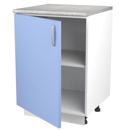 Шкаф напольный Лагуна Сп 85х60 см цвет голубой цена