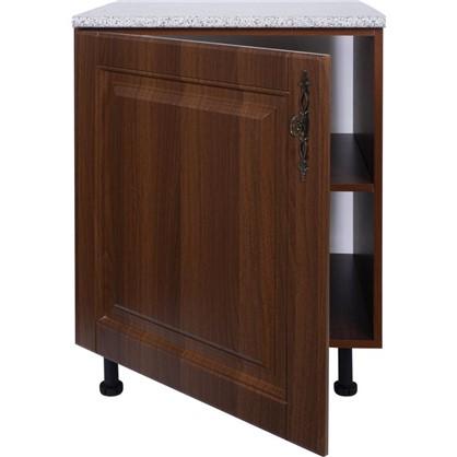 Шкаф напольный Орех Р 85х60 см МДФ цвет орех цена