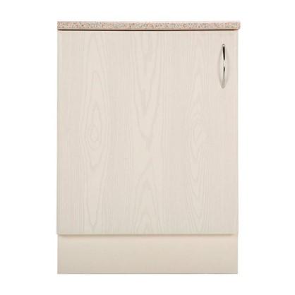 Шкаф напольный Рондо 80-85х60 см МДФ цвет белый цена