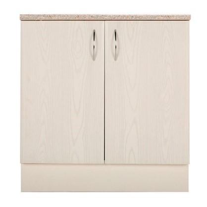 Шкаф напольный Рондо 80-85х80 см МДФ цвет белый цена