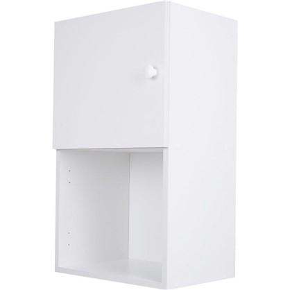 Шкаф навесной Бьянка Сп с фасадом 68х40 см ЛДСП цвет белый цена
