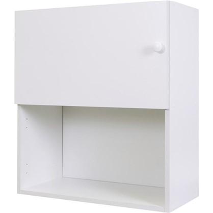 Шкаф навесной Бьянка Сп с фасадом 68х60 см ЛДСП цвет белый