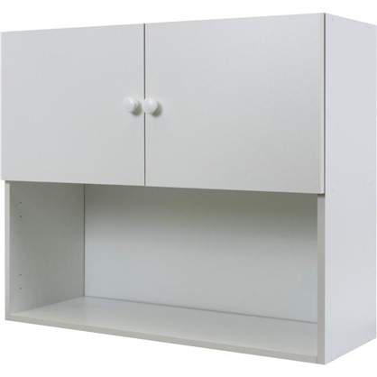 Шкаф навесной Бьянка Сп с фасадом 68х80 см ЛДСП цвет белый цена