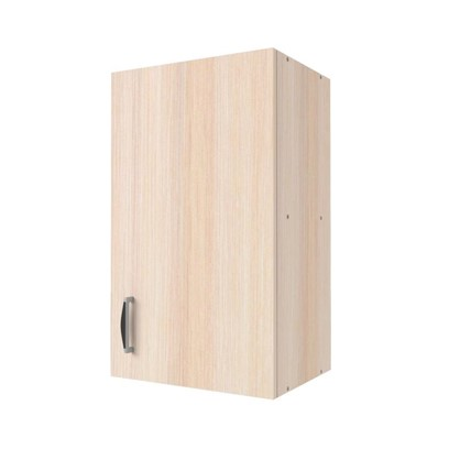 Шкаф навесной Дуб Молочный Д 67.6х40 см цвет дуб цена