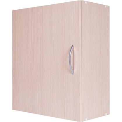 Шкаф навесной Дуб Молочный Д 67.6х60 см цвет дуб цена