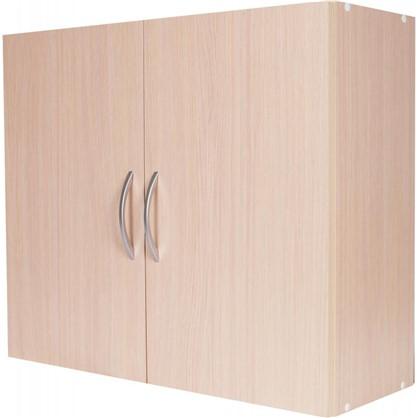 Шкаф навесной Дуб Молочный Д 67.6х80 см цвет дуб цена