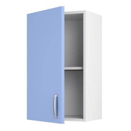 Шкаф навесной Лагуна Д 566х40 см цвет голубой цена