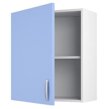 Шкаф навесной Лагуна Д 67.6х60 см цвет голубой цена