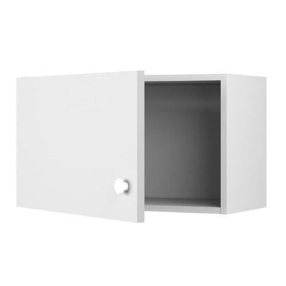 Шкаф навесной над вытяжкой Бьянка Д с фасадом 34.7х60 см цвет белый