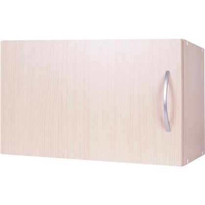 Шкаф навесной над вытяжкой Дуб Молочный Д 34.7х60 см цвет дуб цена