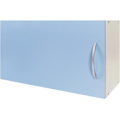 Шкаф навесной над вытяжкой Лагуна Д 34.7х60 см цвет голубой цена