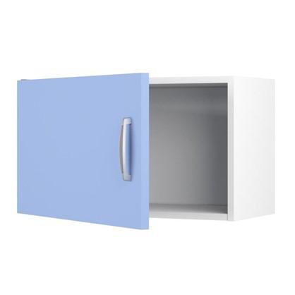 Шкаф навесной над вытяжкой Лагуна Сп 35х60 см цвет голубой цена