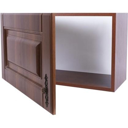 Шкаф навесной над вытяжкой Орех Р 35х60 см МДФ цвет орех цена