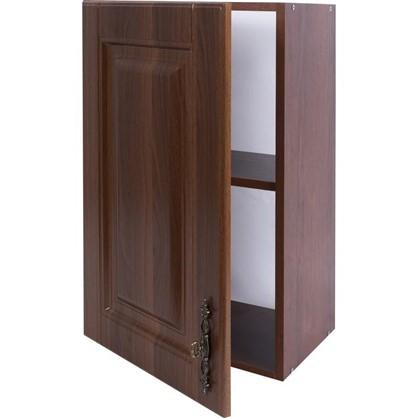 Шкаф навесной Орех Р 68х40 см МДФ цвет орех цена