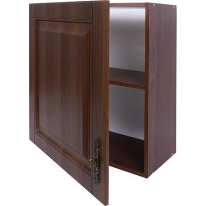 Шкаф навесной Орех Р 68х60 см МДФ цвет орех