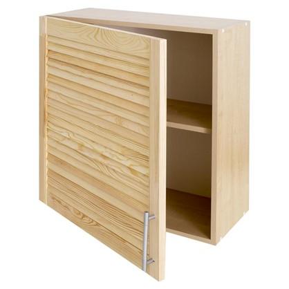 Шкаф навесной Сосна 60х27 см ЛДСП цвет бежевый цена