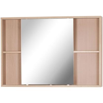 Зеркальный шкаф Римини 100 см цвет белый