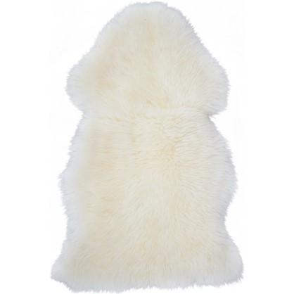 Шкура овечья одинарная 0.8x0.5 м цвет белый цена