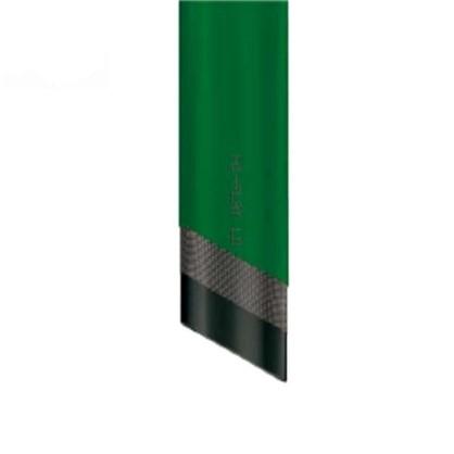Шланг для полива трехслойный плоский 1 1/4 дюйма цвет  зелёный на отрез