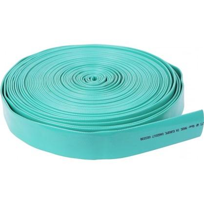 Шланг для полива трехслойный плоский 40x50 мм цвет зелёный на отрез в