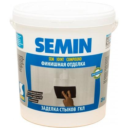 Шпаклевка для заделки швов Semin Sem-Joint 25 кг цена