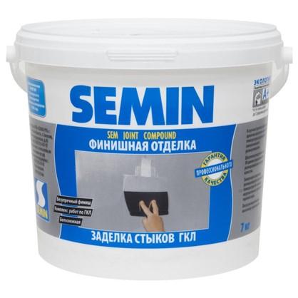 Шпаклевка для заделки швов Semin Sem-Joint 7 кг цена