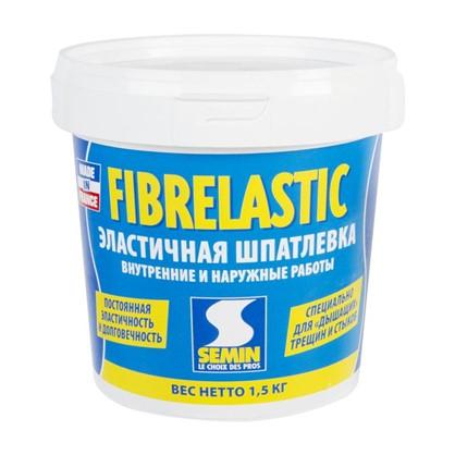 Шпаклевка эластичная Semin Fiberlastic 1.5 кг