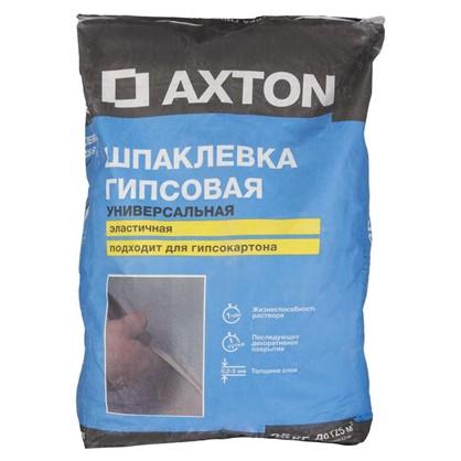 Шпаклевка гипсовая Axton 25 кг цена
