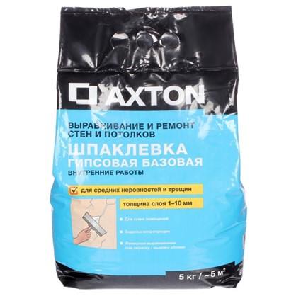 Шпаклевка гипсовая базовая Axton 5 кг цена
