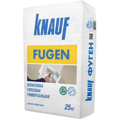 Шпаклевка гипсовая Knauf Фуген 25 кг цена
