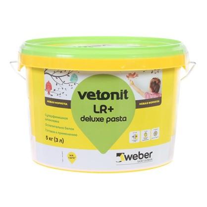 Шпаклевка готовая Weber vetonit pasta 5 кг цена