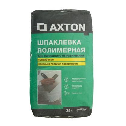 Шпаклевка полимерная Axton 25 кг цена