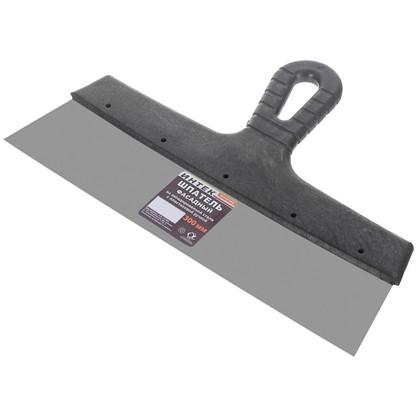 Шпатель 300 мм оксидированная сталь пластиковая ручка цена