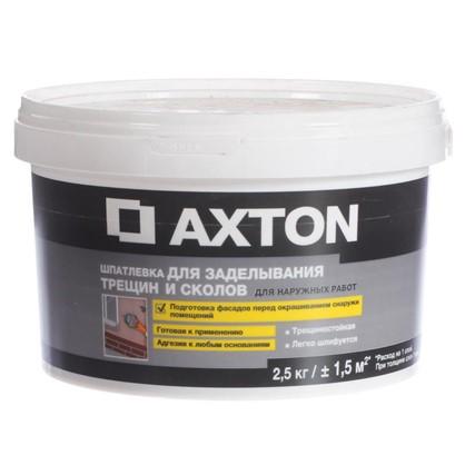 Шпатлевка для трещин для фасадов Axton 2.5 кг