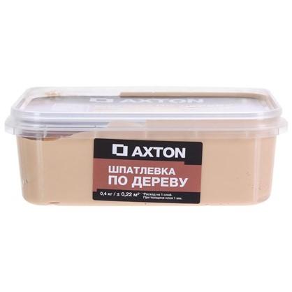 Шпатлевка Axton для дерева 04 кг белое масло