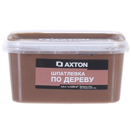 Шпатлевка Axton для дерева 09 кг хани