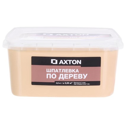 Шпатлевка Axton для дерева 09 кг сосна